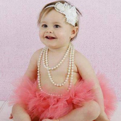 baby ivory white first birthday headband Australia