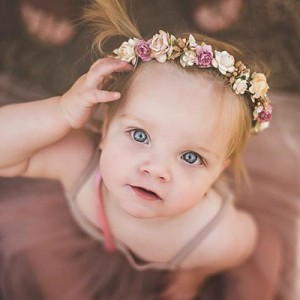 baby girl photoshoot head piece Australia
