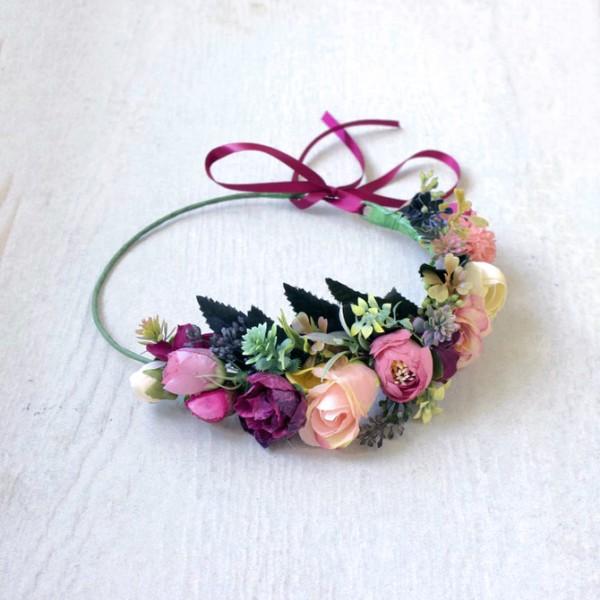 bohemian floral crowns