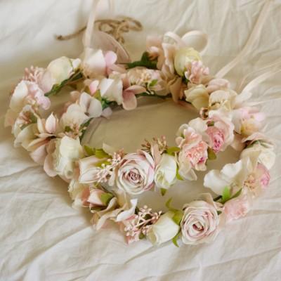 wedding flower crowns australia
