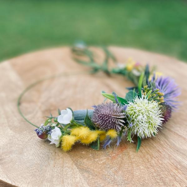 Melbourne native floral hair crown
