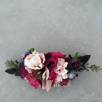 flower clip artificial flowers