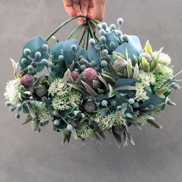 Australian native custom made floral crown