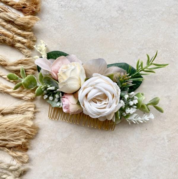 fake flower hair accessories