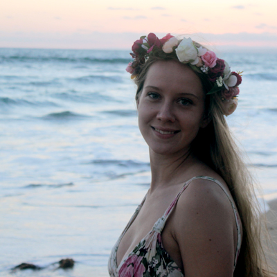 boho party flower crown