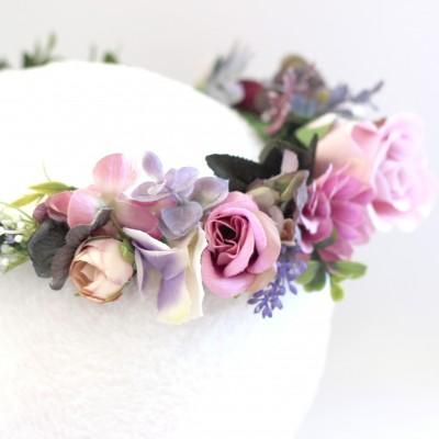 bohemian headpice flowers