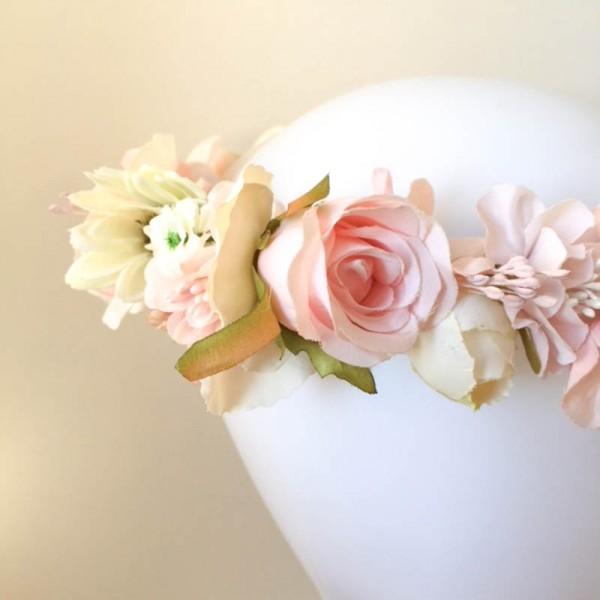 flower girl crowns artificial quality Australia