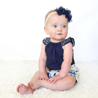 baby girl headbands Australia lace