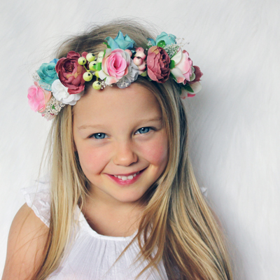 kids fairy headband