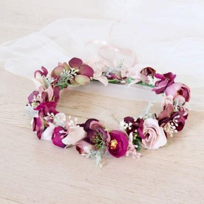 bridal hair flower crowns