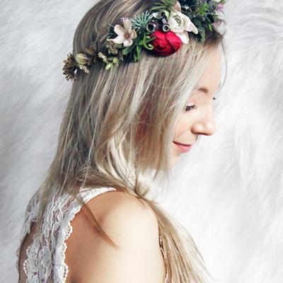 handmade custom australia floral crowns