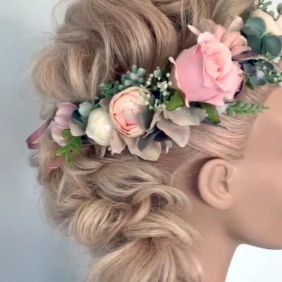 angel flower crowns