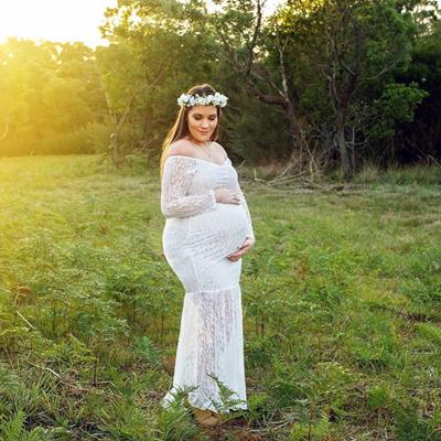 maternity photo shoot headband Australia