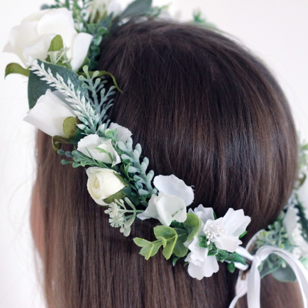 white flower crown Melbourne australia