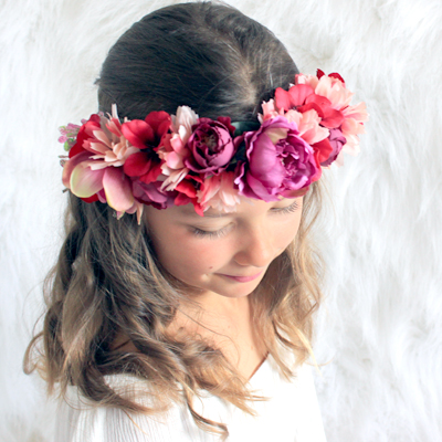 party headwear Australia flowers hair