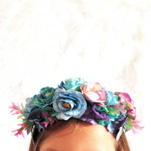 fake floral crowns wholesale Australia