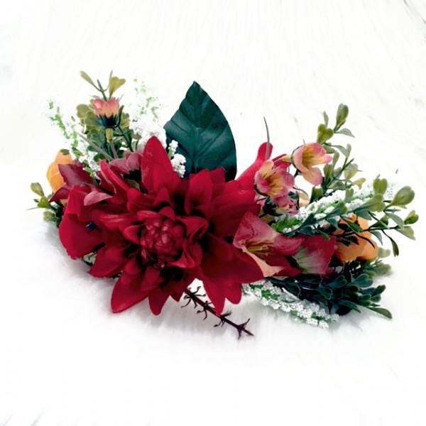event head wear womens flowers