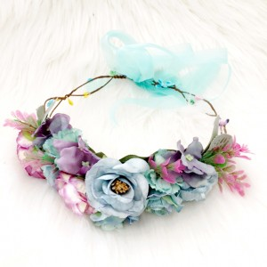 pacific flower crown silk