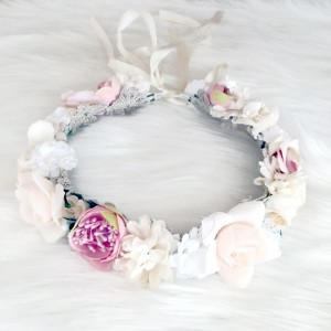 flower girl kids hair tiara Australia