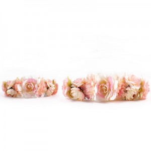 light pink headband set