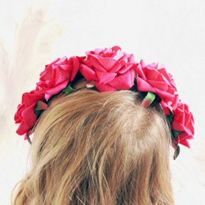 hot pink fuchsia headband womens