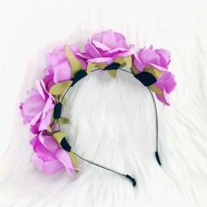 fashion party womens headband rose large