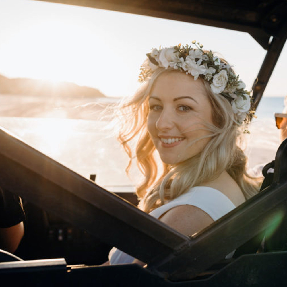 australia handmade flower crowns wedding