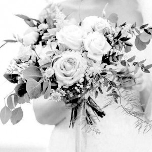 wedding bouquet artificial flowers faux