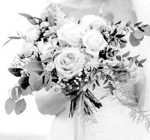 wedding bouquet artificial flowers faux