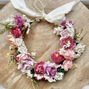 vintage flower girls headband