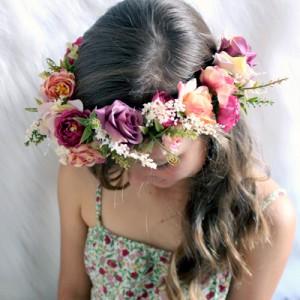 gypsy flower crown australia handmade