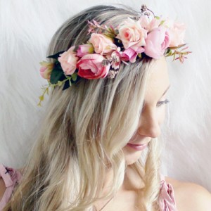 Lilly and lace flower crowns Melbourne