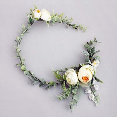 melbroune fake flower crowns wedding