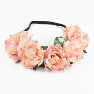hair accessory pink womens