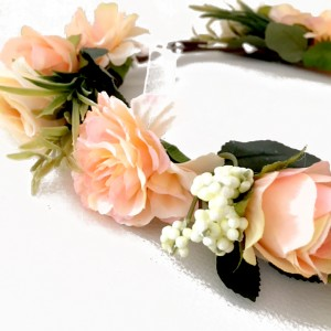 party fashion crown flowers