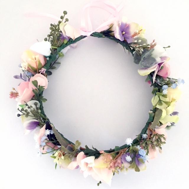 silk flower crowns Australia events