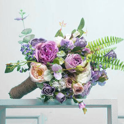 artificial flowers wedding bouquet look real