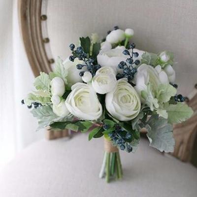 artificial flower bouquet wedding Melbourne