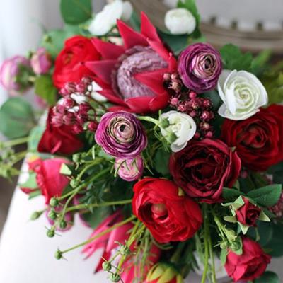 red_pink_white_flower_silk_bouquet.jpg