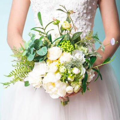 floral wedding accessory flowers hand