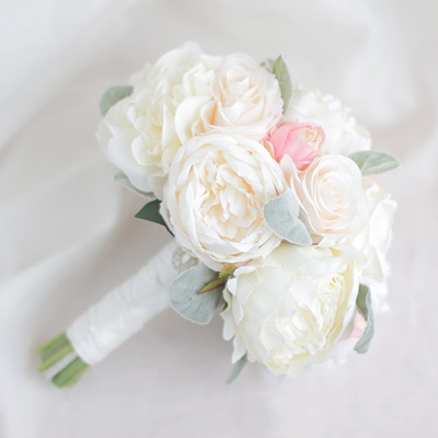 wedding bridal bouquets Australia silk