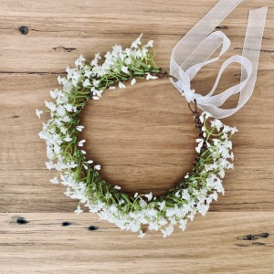 gypso vintage bespoke flower crown