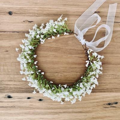 gypso vintage bespoke flower crown