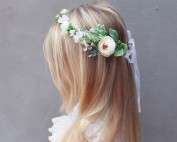 dainty hair flowers silk