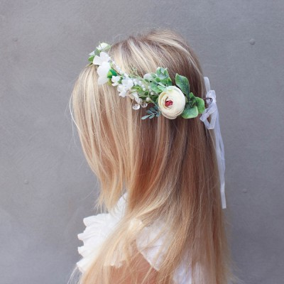 dainty hair flowers silk