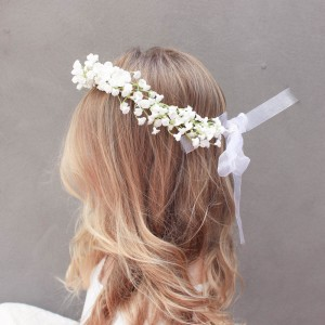 gypsy flower silk crown