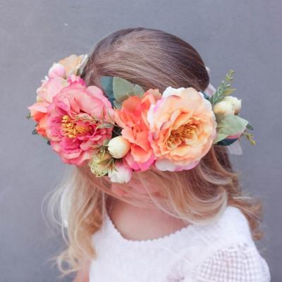 orange_red_party_races_floral_Crown