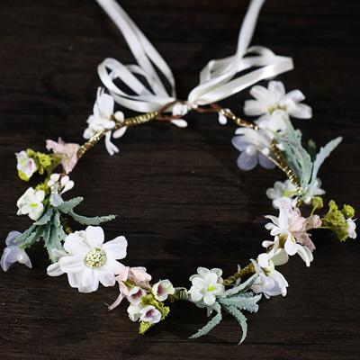 small flower hair crown