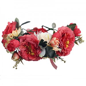 red headband flowers races