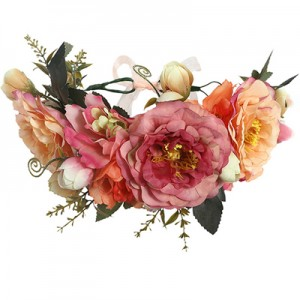 island flower crown silk